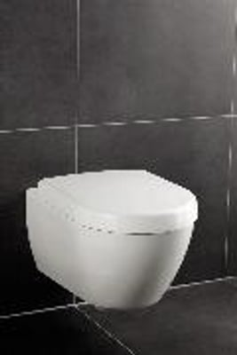 Villeroy & Boch Subway 2.0 Toalettsete, hardplast, Soft Close og Quick Release