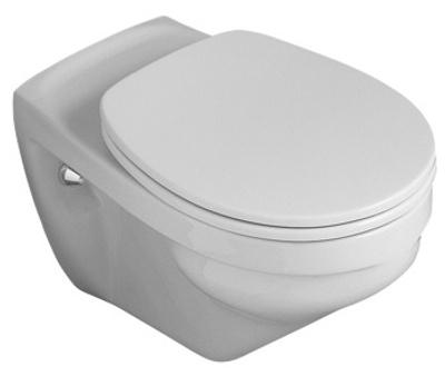 Toalettskål for veggmontering, 595x360 mm, Classic Vita