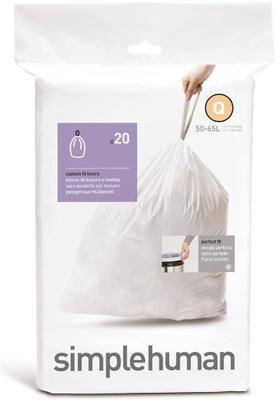Simplehuman Simplehuman Avfallspose Q, 20 Stk Pr Rull