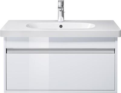 Ketho Møbelsett, 65x48 cm Hvit høyglans