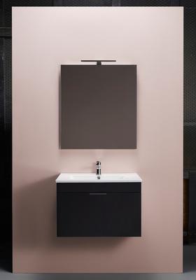Hafa Go 600 kompl m speil svart, og servant