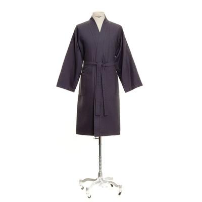 Möve Wafflepiquee Kimono graphit XL