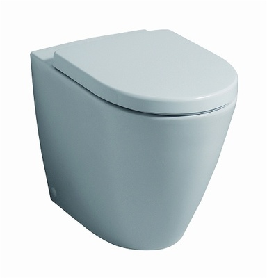 Pozzi Ginori toalett, BTW, rimfree Vegg- og gulvmontert