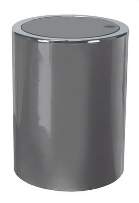 Kleine Wolke Clap Søppelbøtte med vippelokk - 5L Platinum