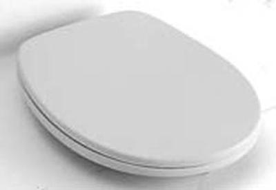 Villeroy & Boch Omnia Toalettsete, hardplast, faste hengsler