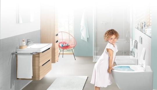 Hygieniske toaletter spyler rent etter hvert besøk