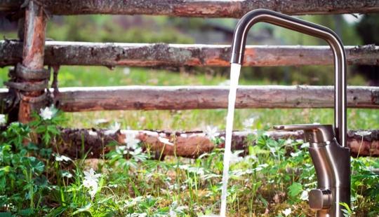 Hold hytta tørr og sunn